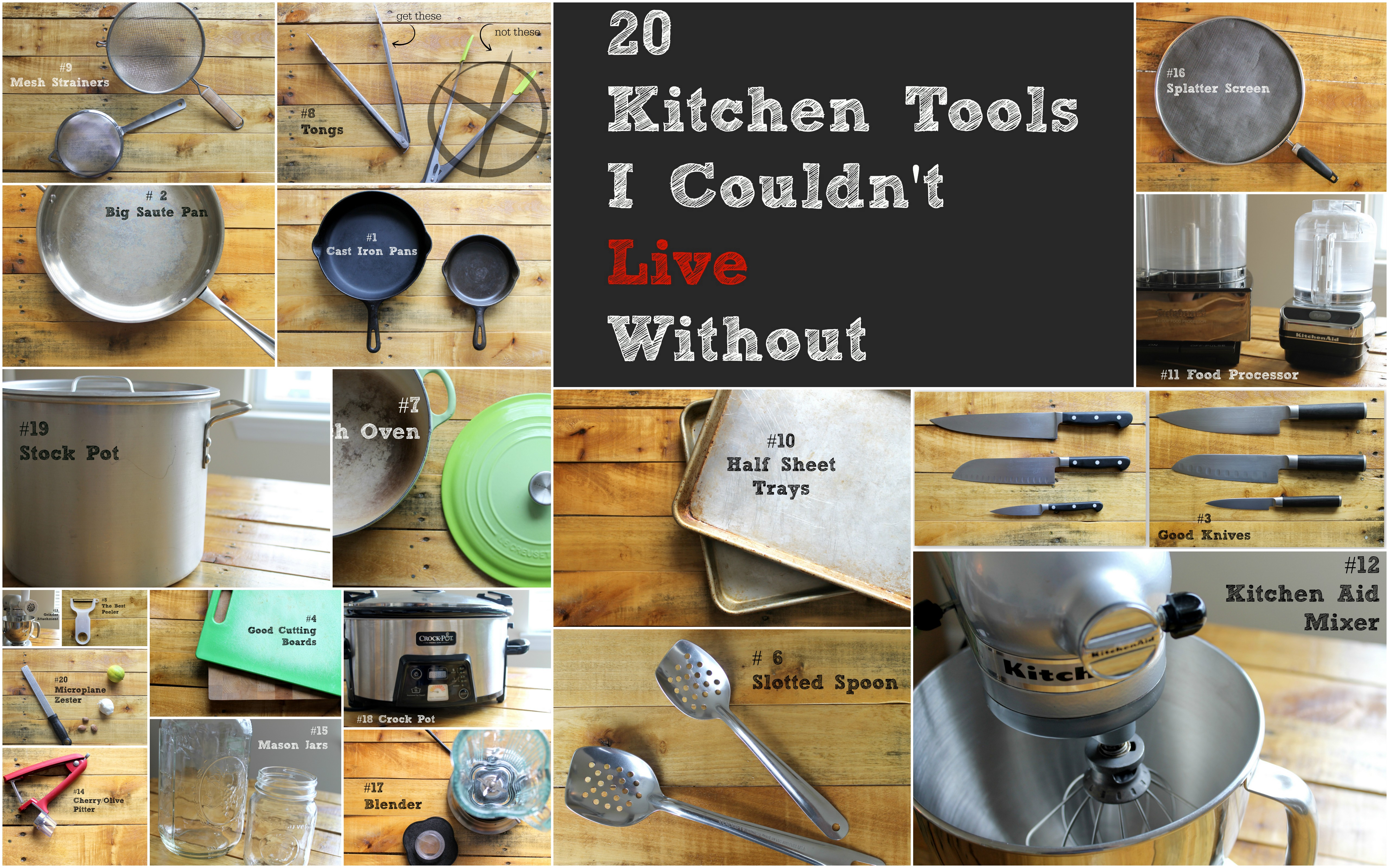 20 Kitchen Tools I Couldn t Live Without