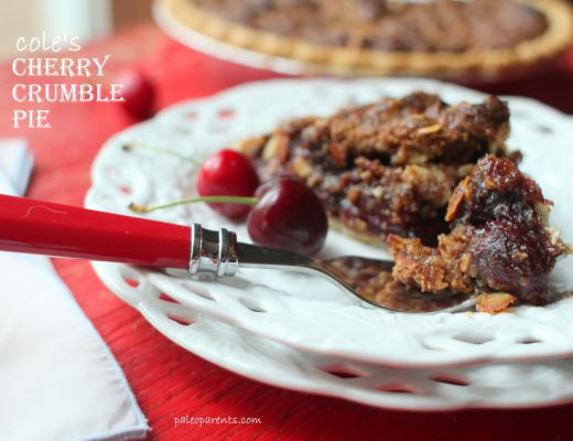 Cherry-Crumble-Pie-on-Paleo-Parents