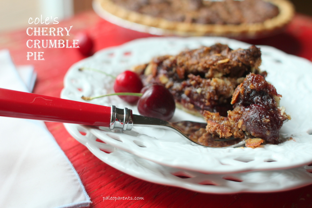 Cole S Cherry Crumble Pie Real Everything
