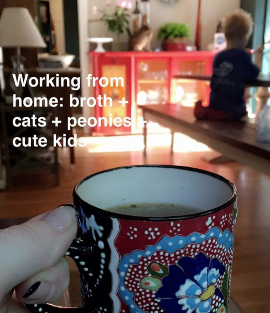 Work from home perks | Paleo Parents