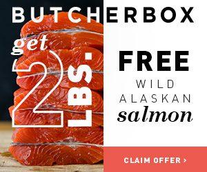 butcher box 2lbs free wild alaskan salmon