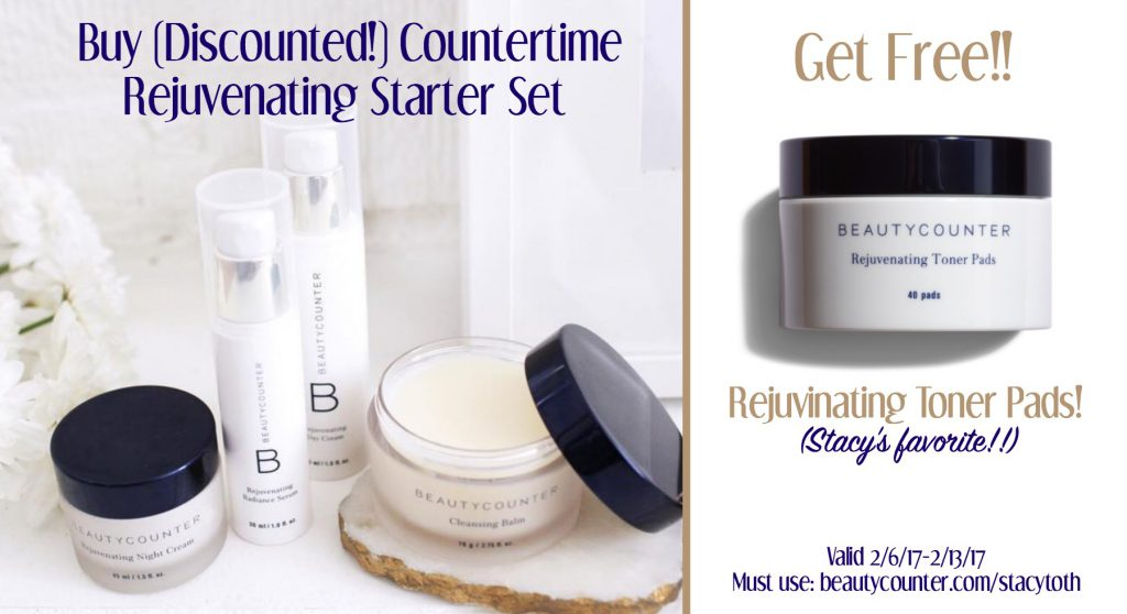 BC Rejuvenating Set Free Toner Pads