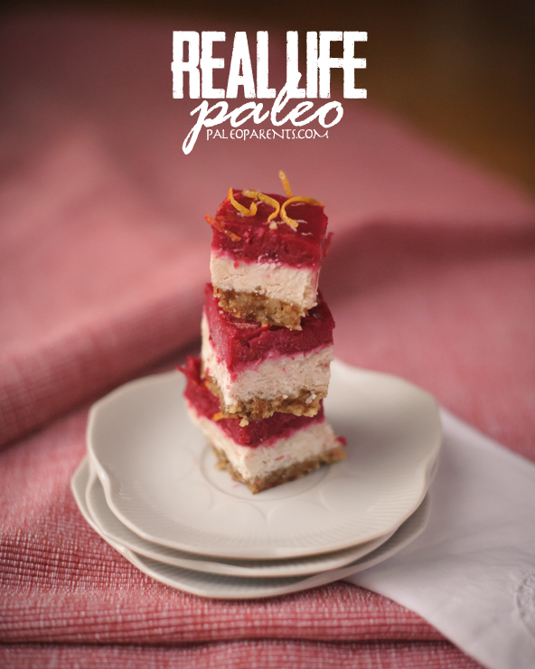 Cranberry-Clementine-no-bake-Coconut-Bars, Healthy Paleo Thanksgiving Recipes! Real Everything