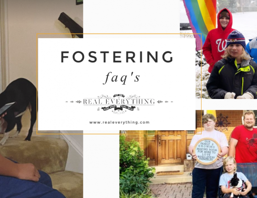 Fostering FAQs - Real Everything