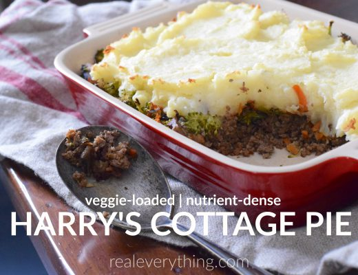 Harry's Cottage Pie Real Everything