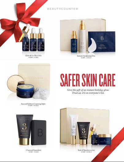beautycounter safer skincare holiday