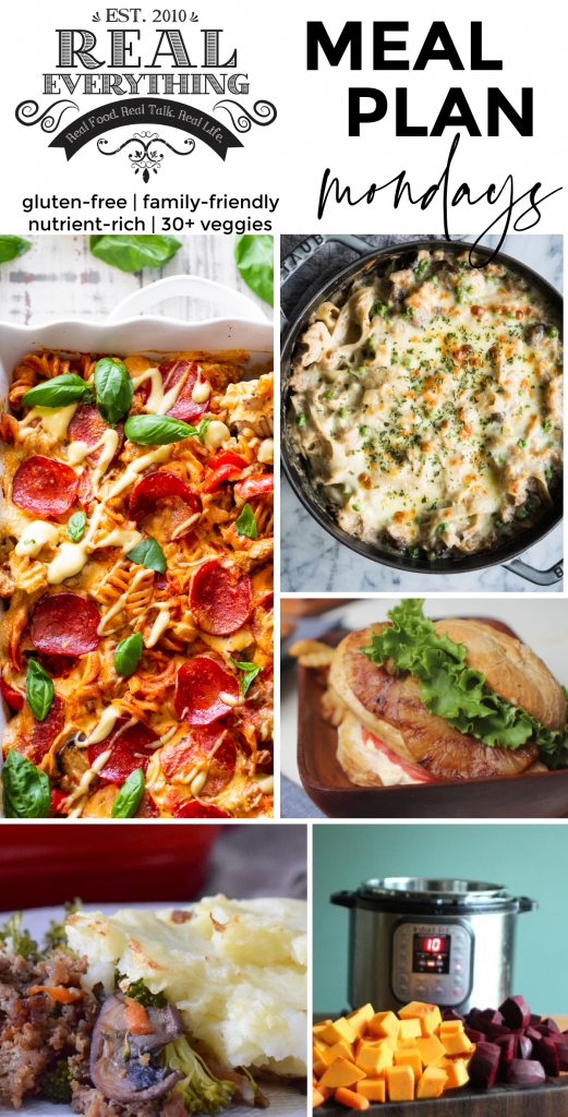 Meal Plan Monday Feb 22nd - Real Everything Blog