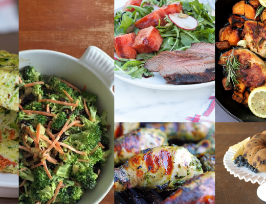 Meal Plan Monday May 31st - Real Everything Blog