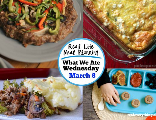 Meal Plan March 8