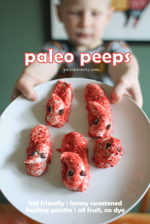 Peeps and peanut butter eggs paleo easter basket and dinner ideas paleo peeps on paleo parents 3g negle Gallery
