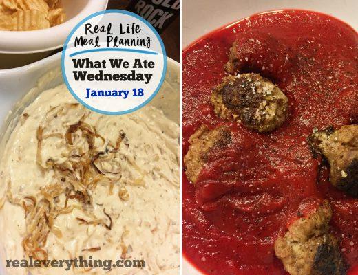 Paleo meal plan Jan 18
