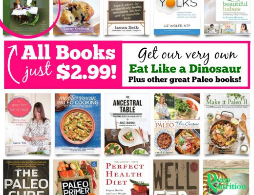 Eat like a dinosaur archives real everything one day sales event with 15 top paleo books including our book eat like a dinosaur forumfinder Gallery