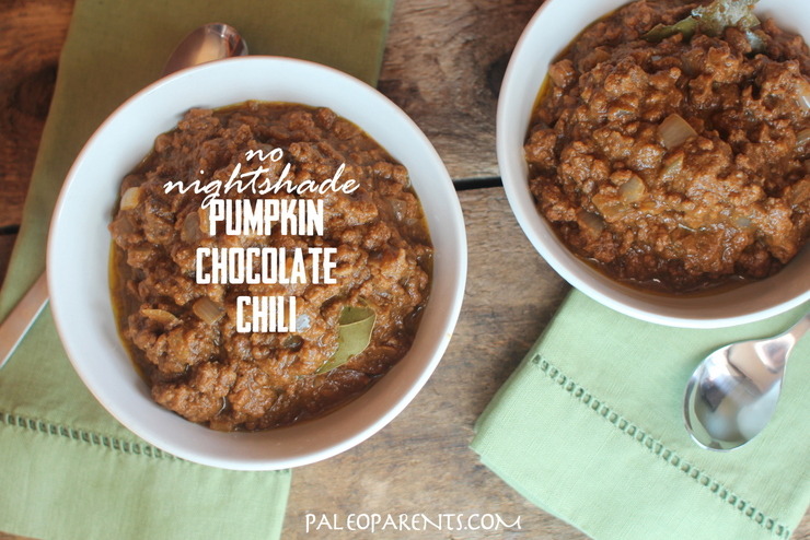 Pumpkin-Chocolate-Chili-for-Tailgating-for-Your-Couch, The BEST Paleo Chocolate Recipes and Treats! Real Everythingpg