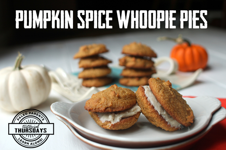 Pumpkin-Spice-Whoopie-Pies, Healthy Paleo Thanksgiving Recipes! Real Everything