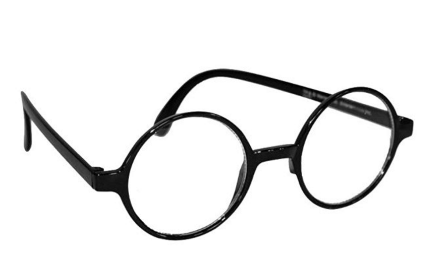 harry potter wes glasses
