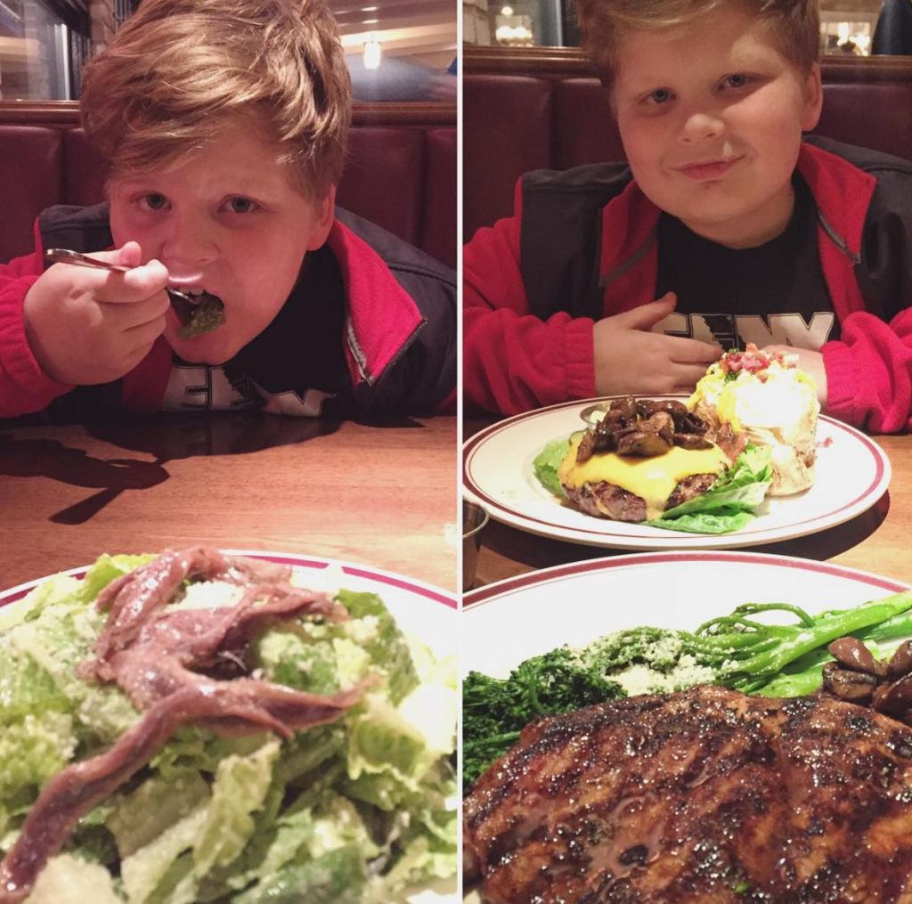 Raising Paleo kids - Cole