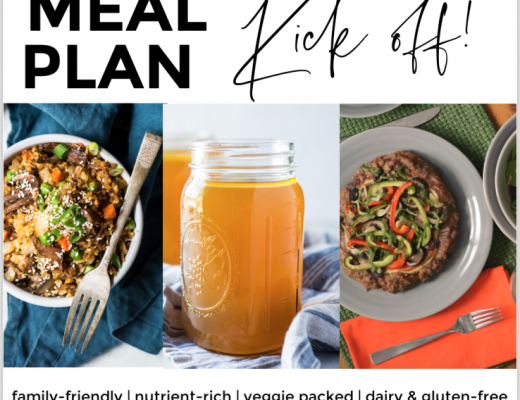 Meal Plan Kick Off 2021 Real Everything Blog
