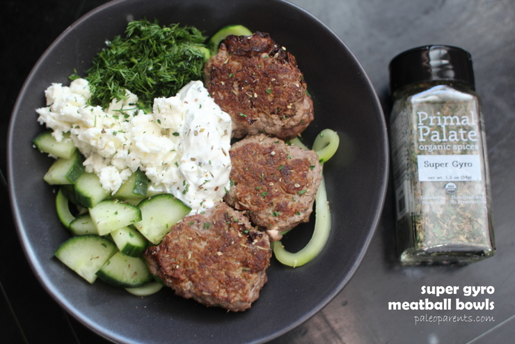 super-gyro-meatballs, 30 minute or less recipes, plus our new family member! | Real Everything