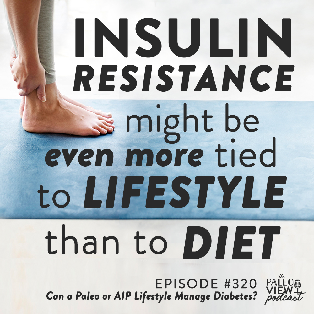 insulin resistance might be even more tied to lifestyle than to diet graphic