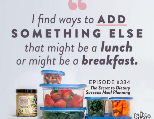 the paleo view podcast episode 334 the secret to dietary success meal planning