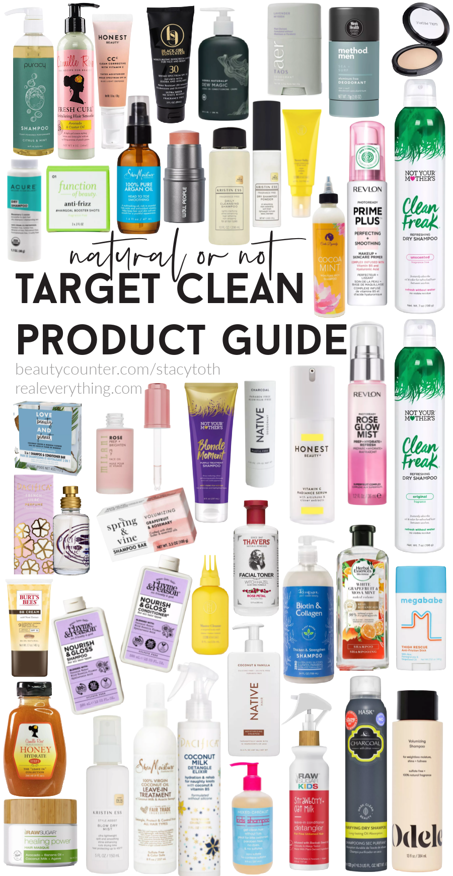 Target Clean Product Guide Overall