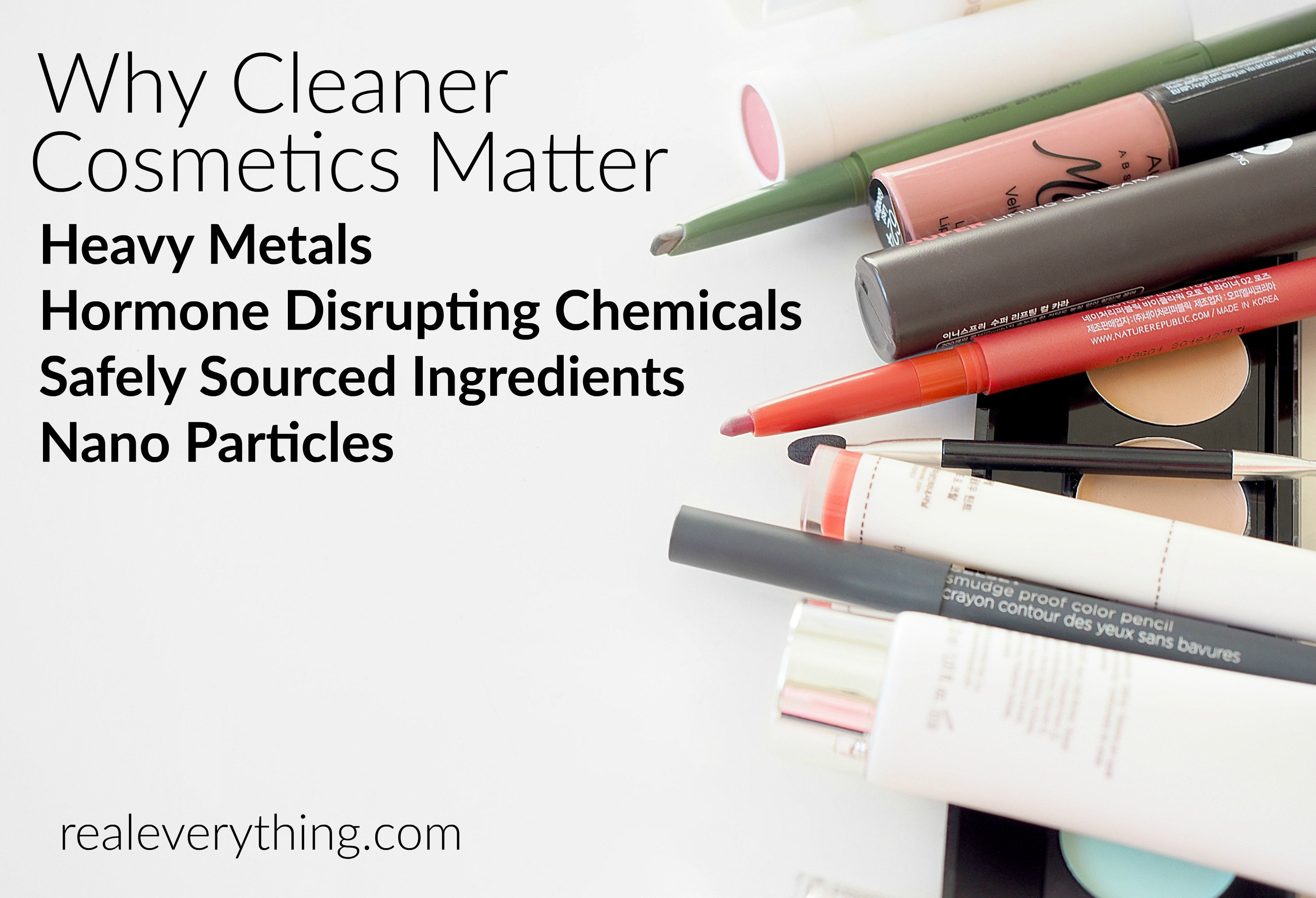 Evidence Linking Chemicals And Learning >> Why Cleaner Cosmetics Matter Heavy Metals Hormone Disrupting