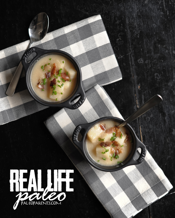 baked-not-potato-soup, 5 easy, hearty SOUP RECIPES + our favorite tools for making broth and stock! Real Everything