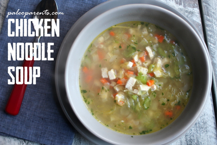 chicken-noodle-soup-bone-broth, 5 easy, hearty SOUP RECIPES + our favorite tools for making broth and stock! Real Everything