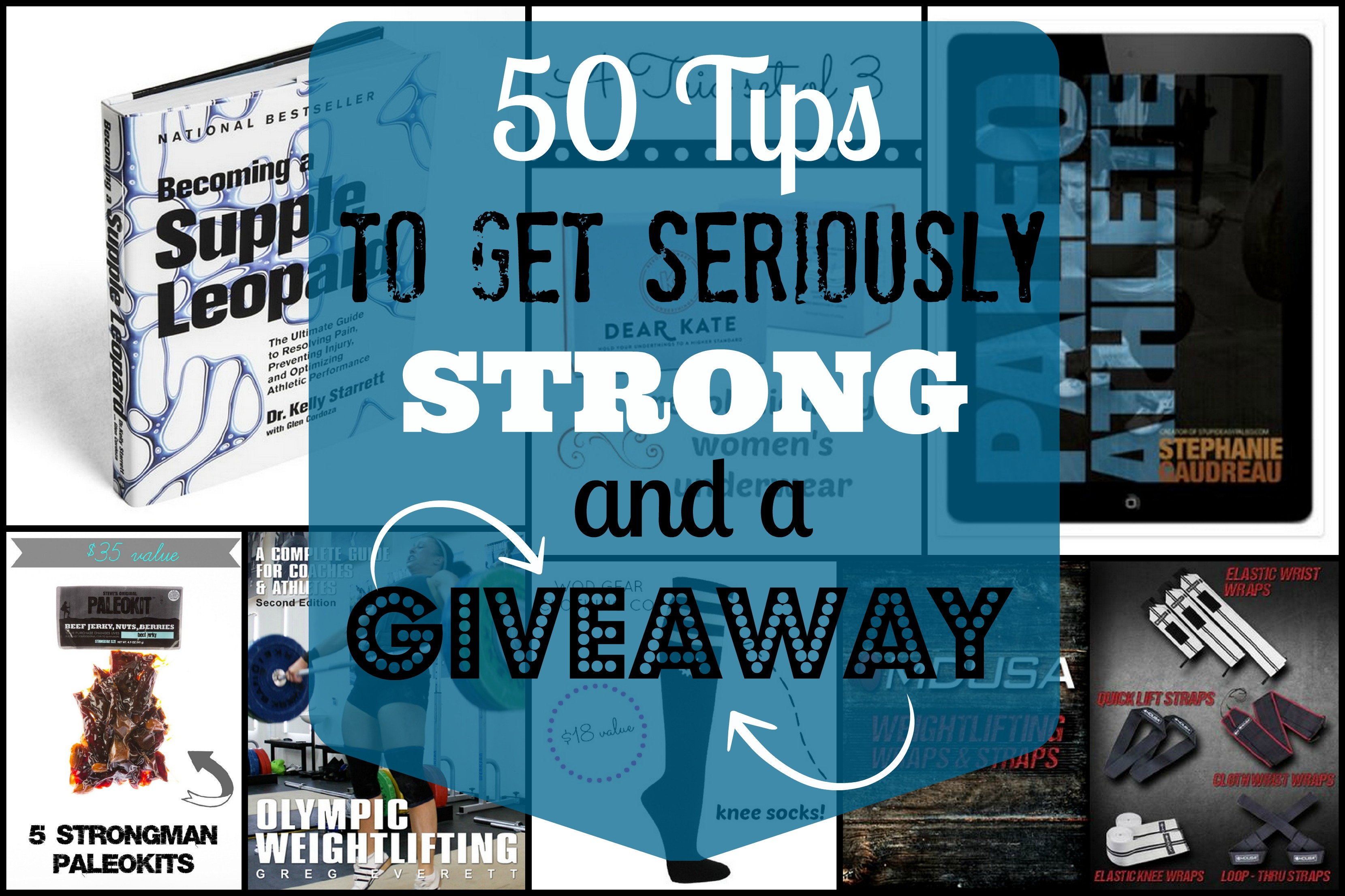 50 tips for getting seriously strong with huge giveaway fandeluxe Gallery