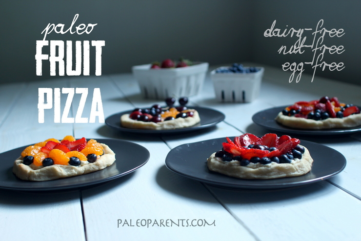 Fruit Pizza on Paleo Parents, How to Use Up All Those Summer Berries! | Paleo Parents