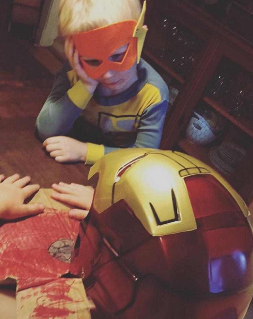 superhero table talk