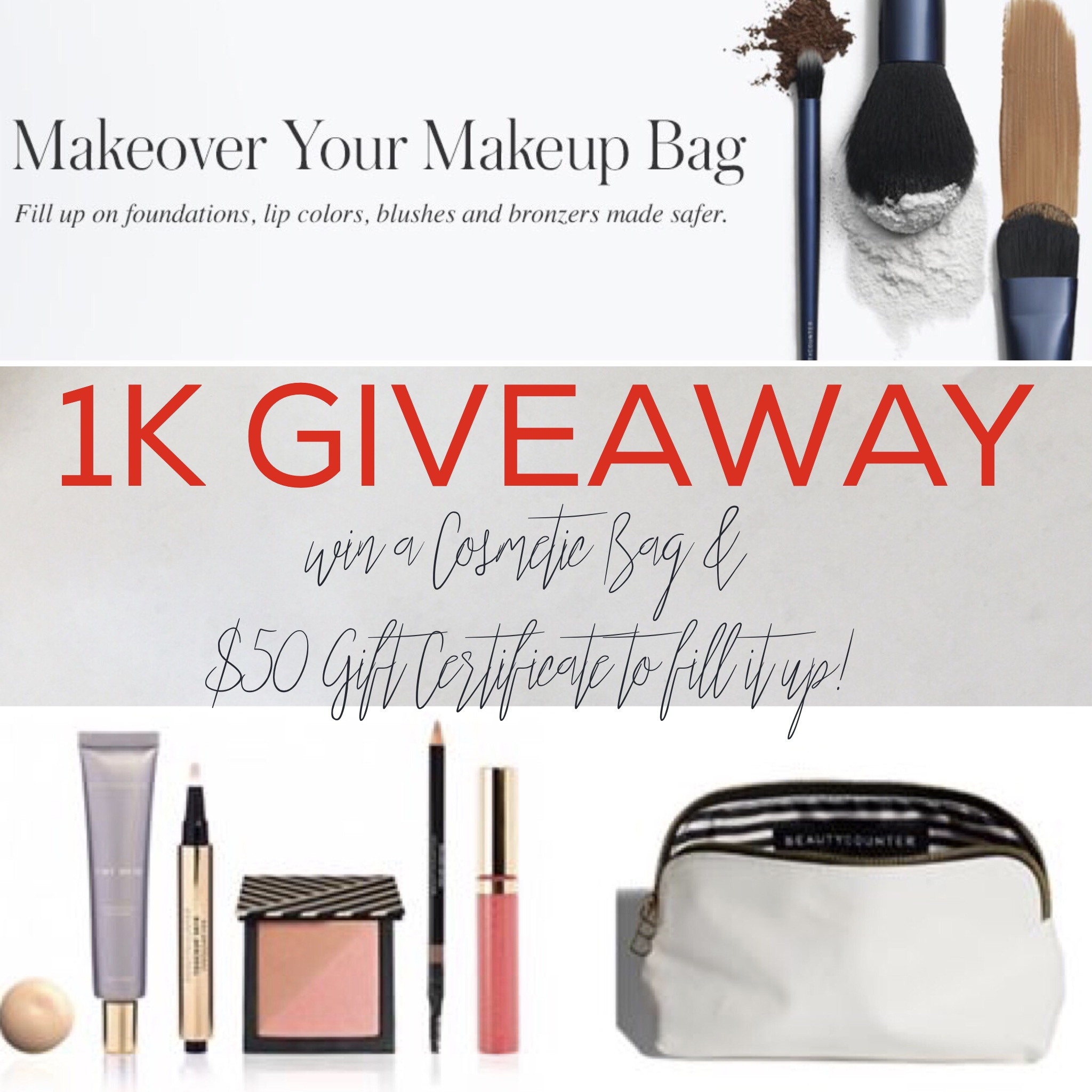 Beautycounter 1K Giveaway on RealEverything