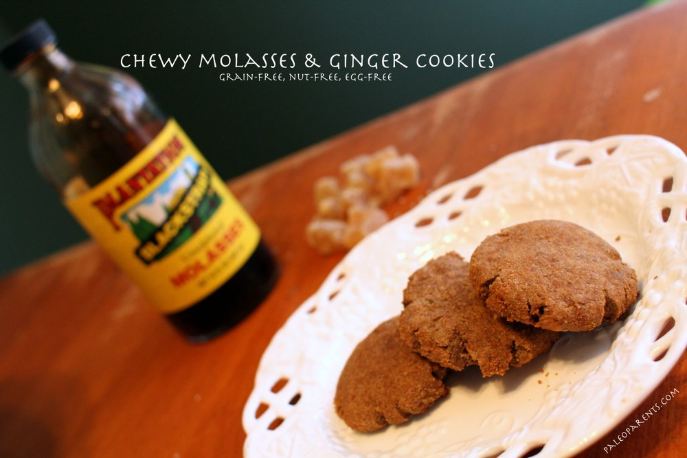 chewy_molasses_ginger_cookies_featured_image, The Best Paleo COOKIE Recipes! | Real Everything