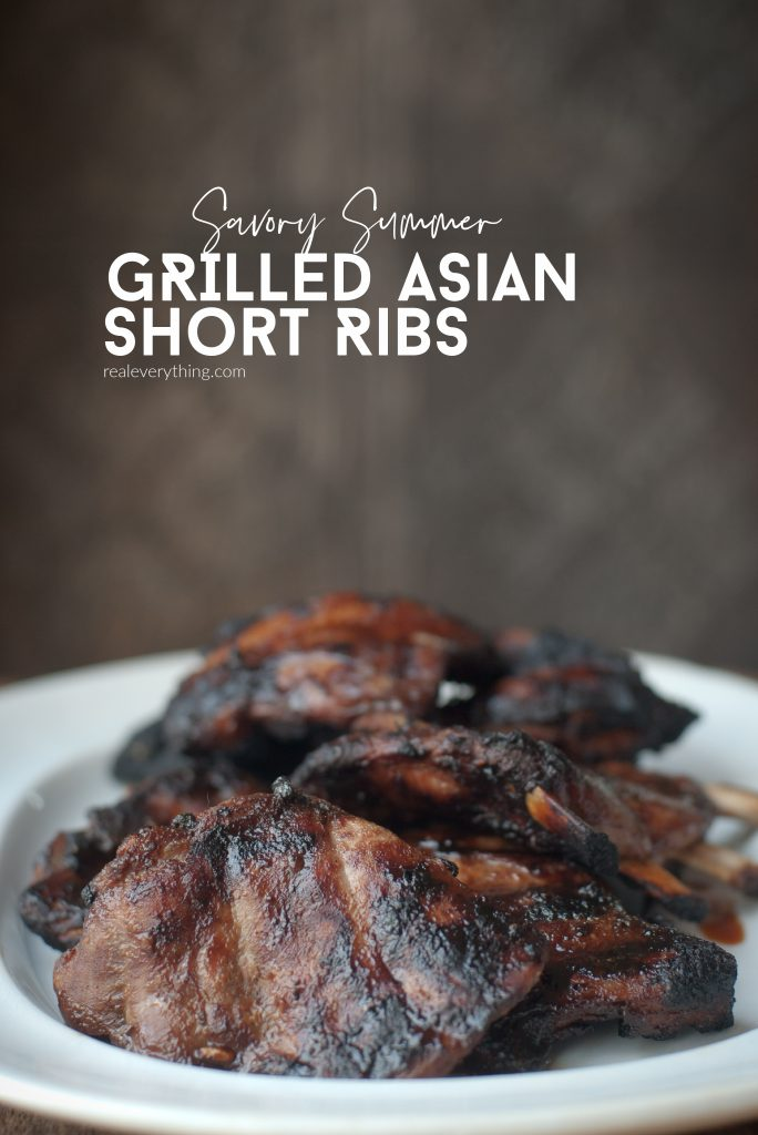 Grilled Asian Short Ribs - Real Everything
