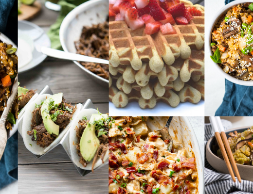 Meal Plan Monday March 8th - Real Everything