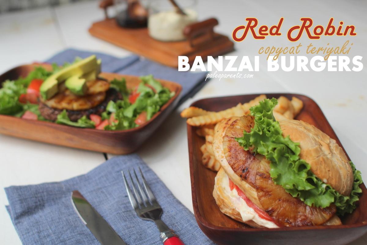 Red Robin Recreation Copycat Teriyaki Banzai Burgers