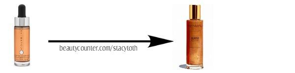 ST BC Safer Swaps lustro shimmer oil