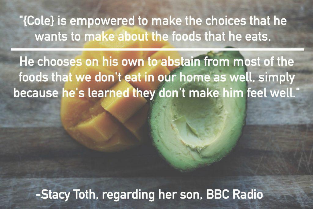 stacy-toth-bbc-radio-kids-food-choices