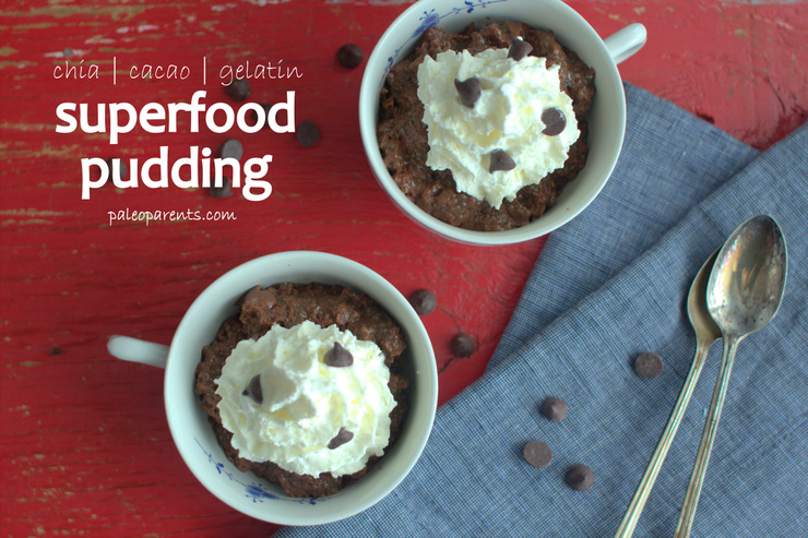 Superfood-Pudding, The BEST Paleo Chocolate Recipes and Treats! Real Everything