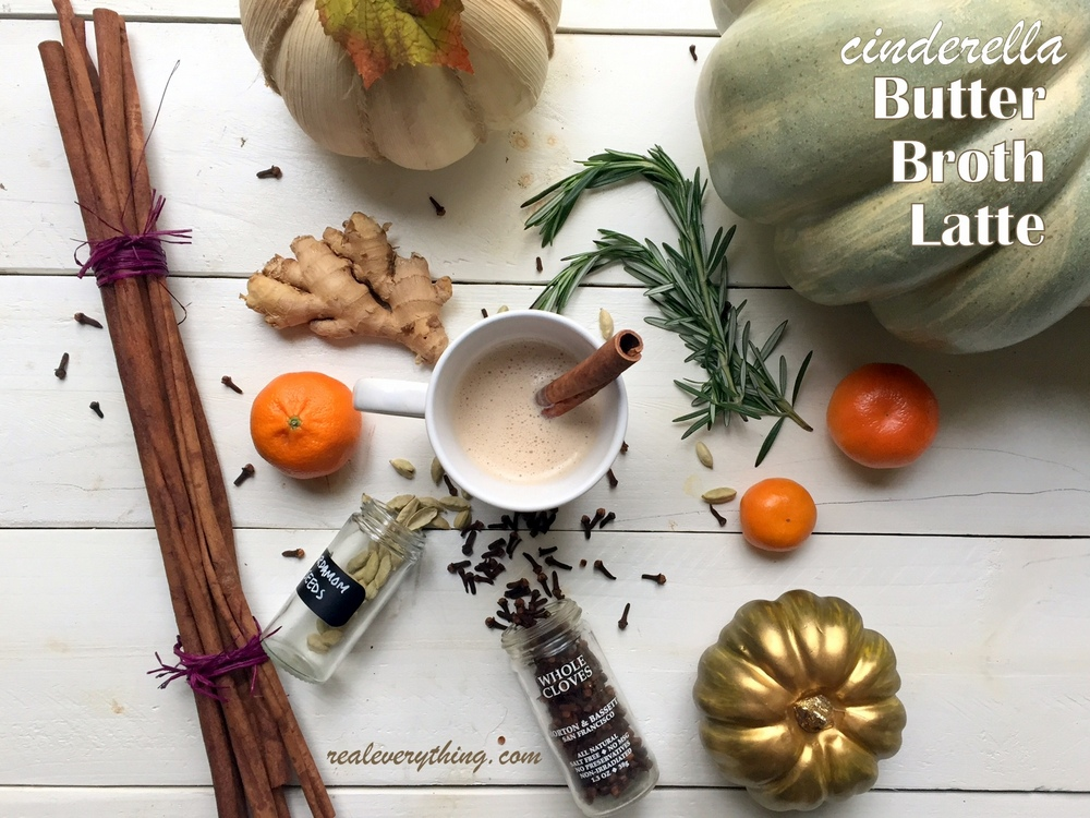 cinderella-butter-broth-latte-on-realeverything, Our favorite broth, stock, and soup recipes! Real Everything