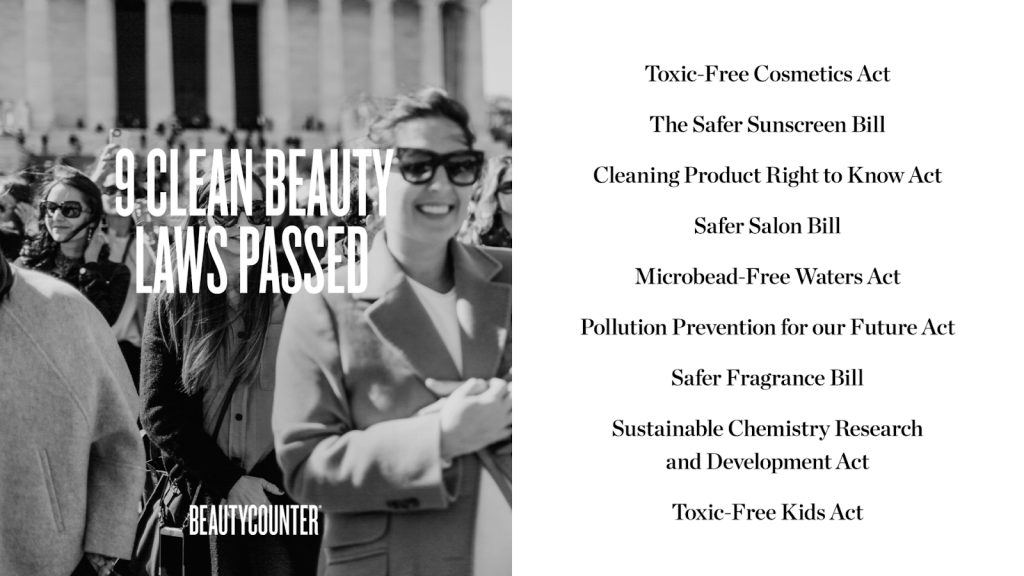Nine Clean Beauty Laws Passed - Beautycounter - Real Everything Blog