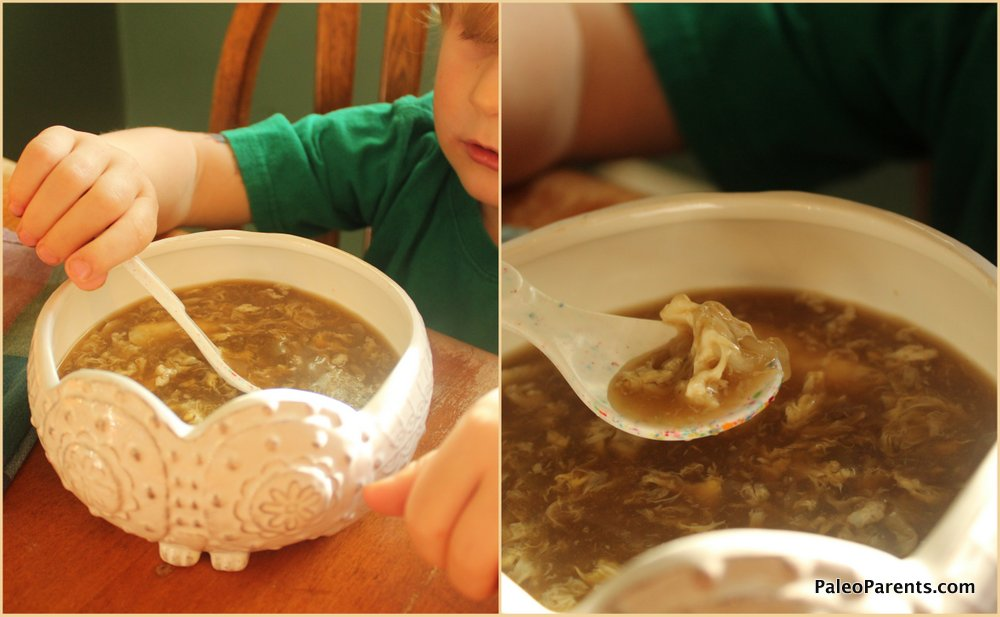 egg-drop-soup, 5 easy, hearty SOUP RECIPES + our favorite tools for making broth and stock! Real Everything