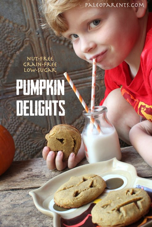 pumpkin-delights-cookies, The Best Paleo COOKIE Recipes! | Real Everything